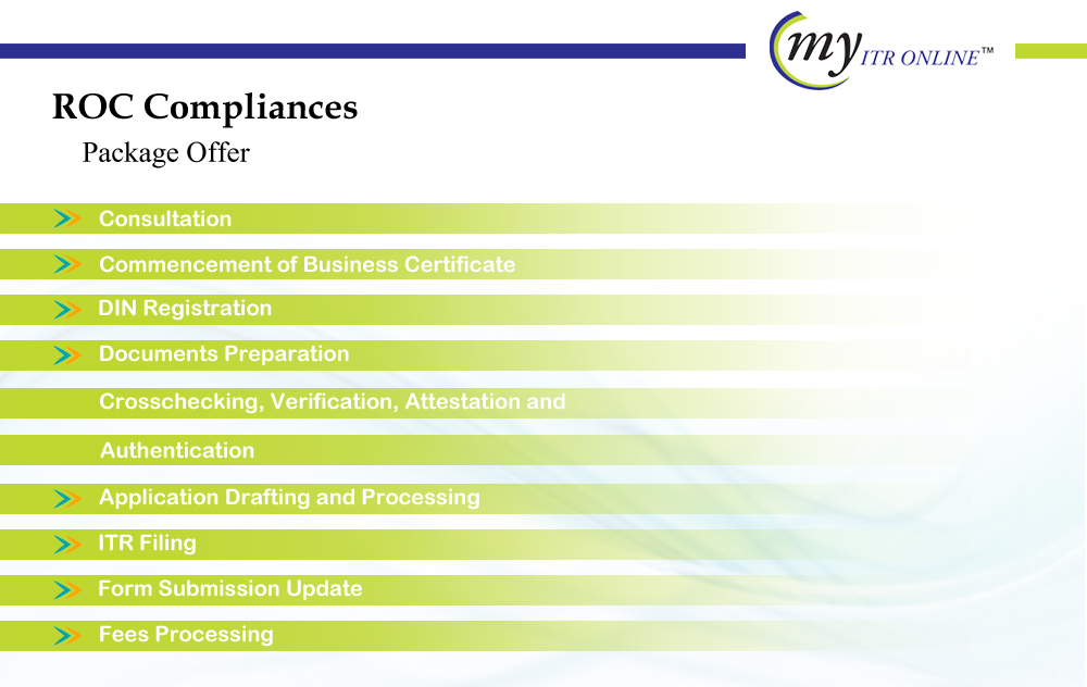 ROC Compliance Package Offer